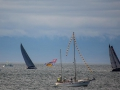sandraleduc SS2014 decorated boat sailing by